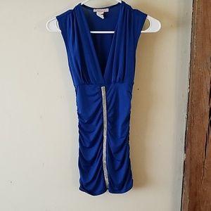 NWOT Wet Seal blue dress